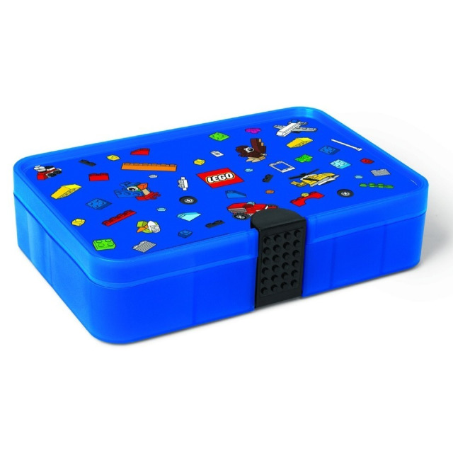 Obrázek produktu LEGO Iconic úložný box s přihrádkami - modrá