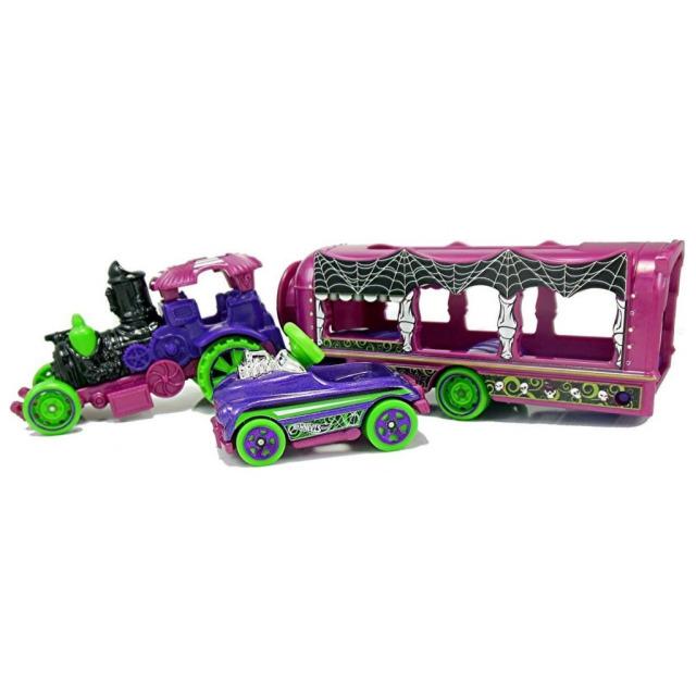 Obrázek produktu Hot Wheels Náklaďák Car - Nival Steamer, Mattel FKW90