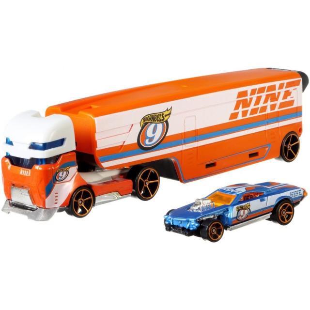 Obrázek produktu Hot Wheels Náklaďák Speedway Hauler, Mattel DKF82