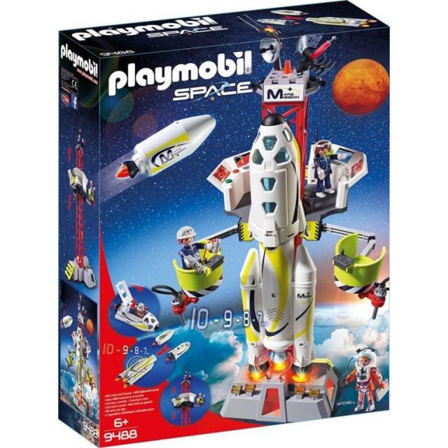 Obrázek produktu Playmobil 9488 Raketa na Mars s rampou