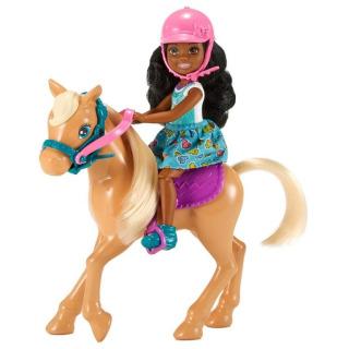 Obrázek 1 produktu Barbie Chelsea s poníkem, Mattel FRL84