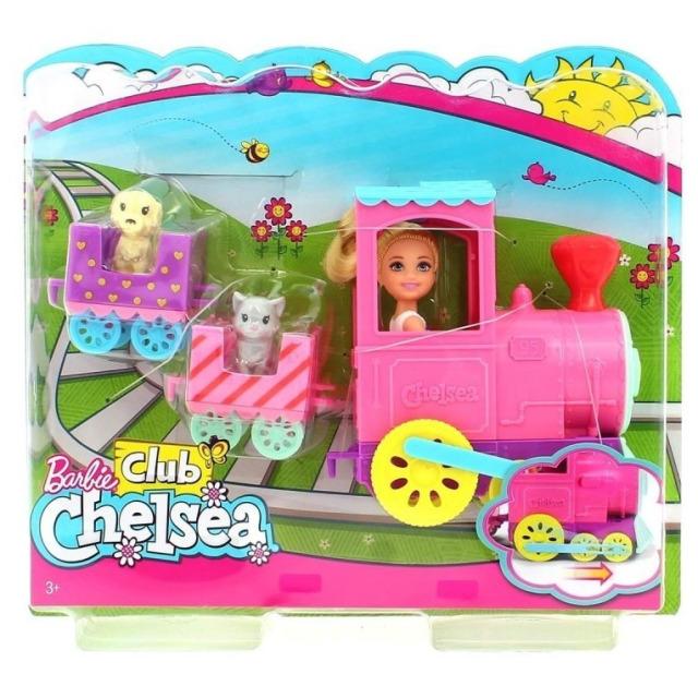 Obrázek produktu Mattel Barbie Chelsea s vláčkem, FRL86