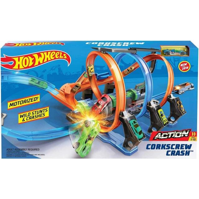 Obrázek produktu Hot Wheels Spirálová jízda, Mattel FTB65
