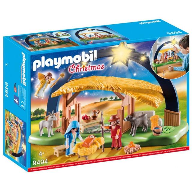 Obrázek produktu Playmobil 9494 Betlém se svítícími hvězdami