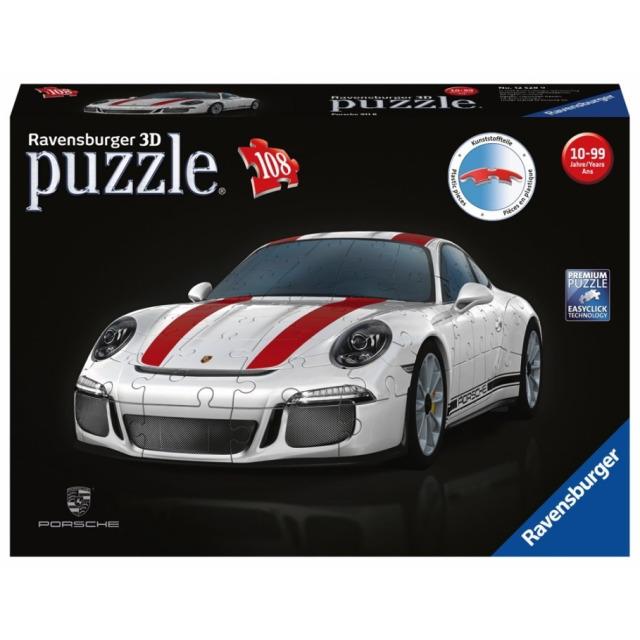 Obrázek produktu Ravensburger 12528 Puzzle 3D Porsche 911R 108 dílků