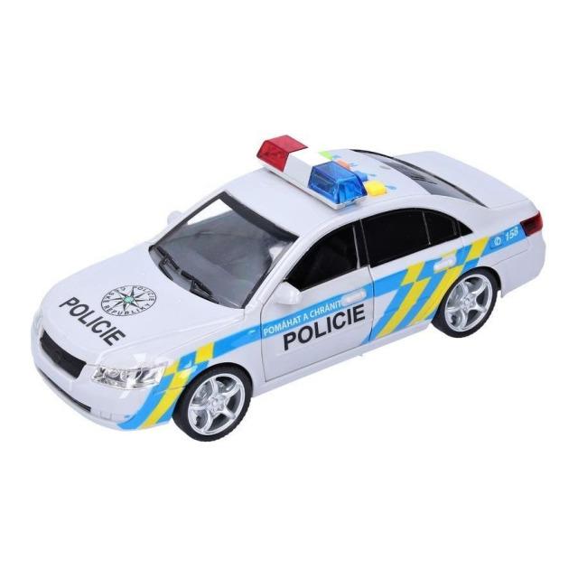 Obrázek produktu Policejní auto, světlo, zvuk, 24 cm
