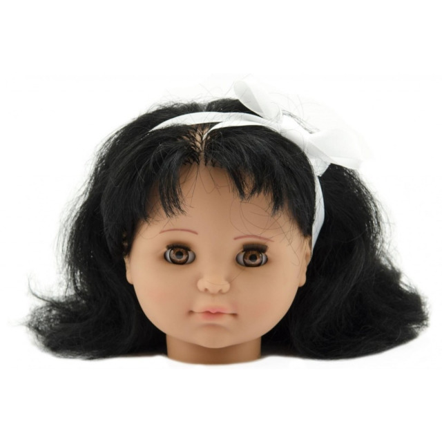 Obrázek produktu Česací hlava Hamiro velká, černovláska