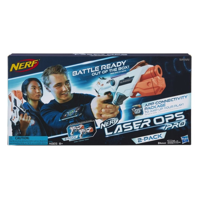 Obrázek produktu Hasbro Nerf Laser Ops Pro Alphapoint duopack, E2281