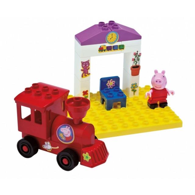 Obrázek produktu PlayBIG Bloxx, Peppa Pig Železniční zastávka