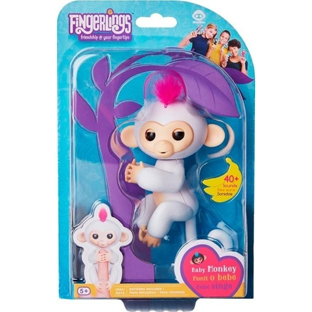 Obrázek produktu Fingerlings Opička Sophie bílá