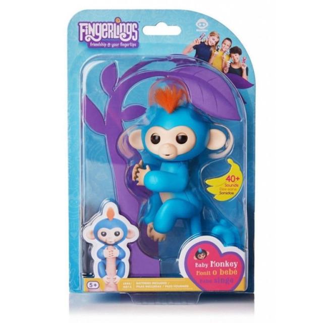 Obrázek produktu Fingerlings Opička Boris modrá