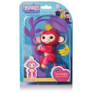Obrázek 1 produktu Fingerlings Opička Bella růžová
