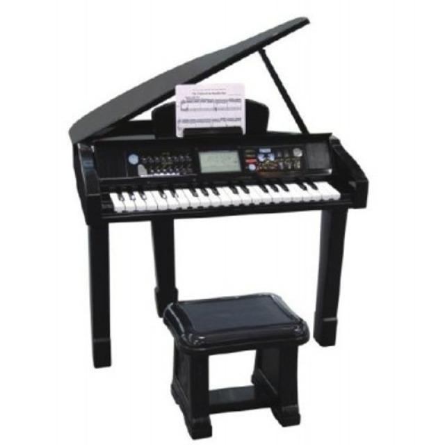 Obrázek produktu Piáno/klavír plast 56x72x44 cm na baterie se zvukem