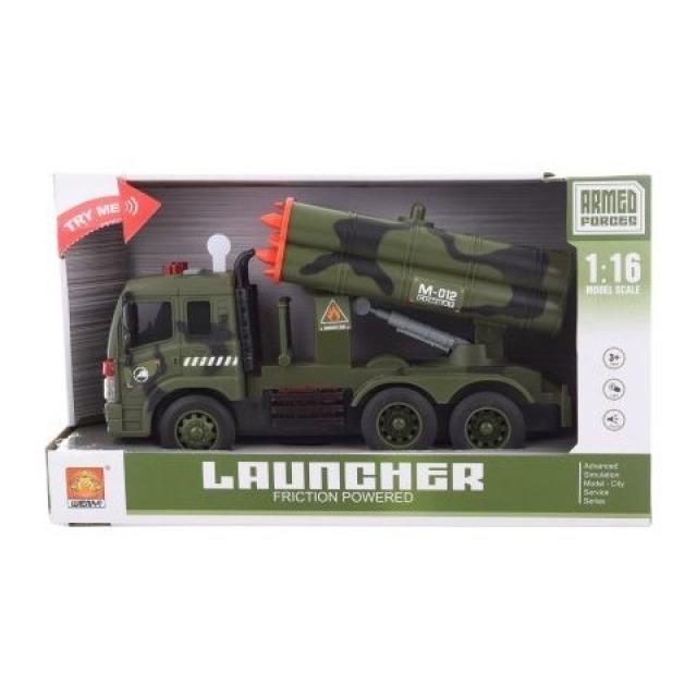 Obrázek produktu Vojenské auto s raketami