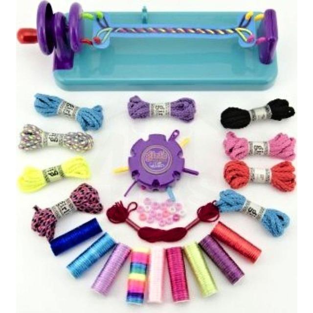 Obrázek produktu Kreativní sada Pletení náramků s doplňky