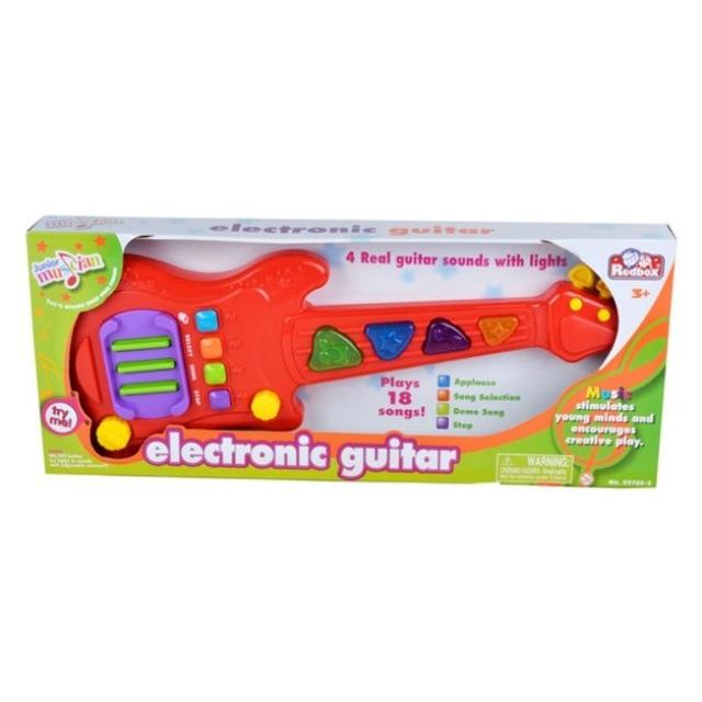 Obrázek produktu RedBox Dětská elektronická kytara 48 cm, světlo, zvuk