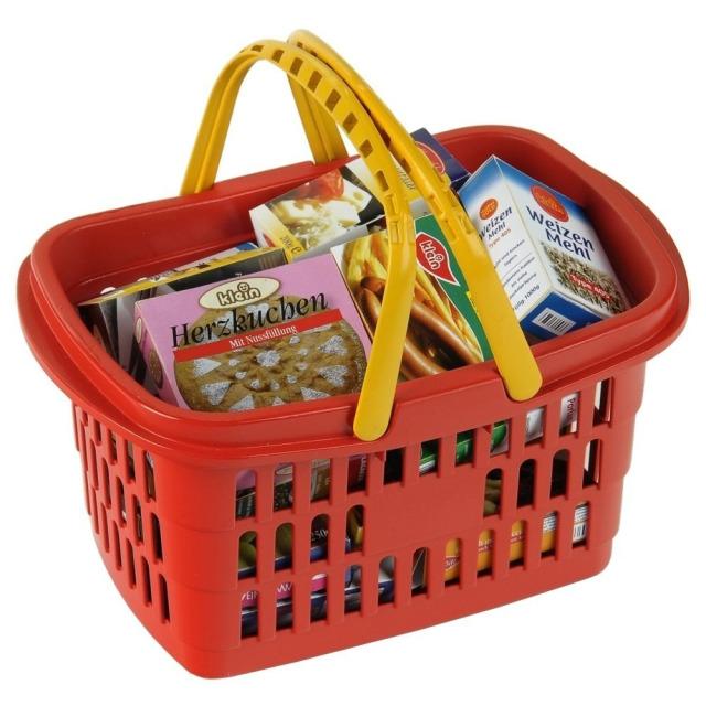 Obrázek produktu Klein Nákupní košík s maketami potravin