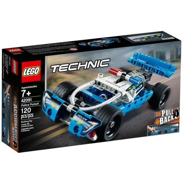 Obrázek produktu LEGO TECHNIC 42091 Policejní honička