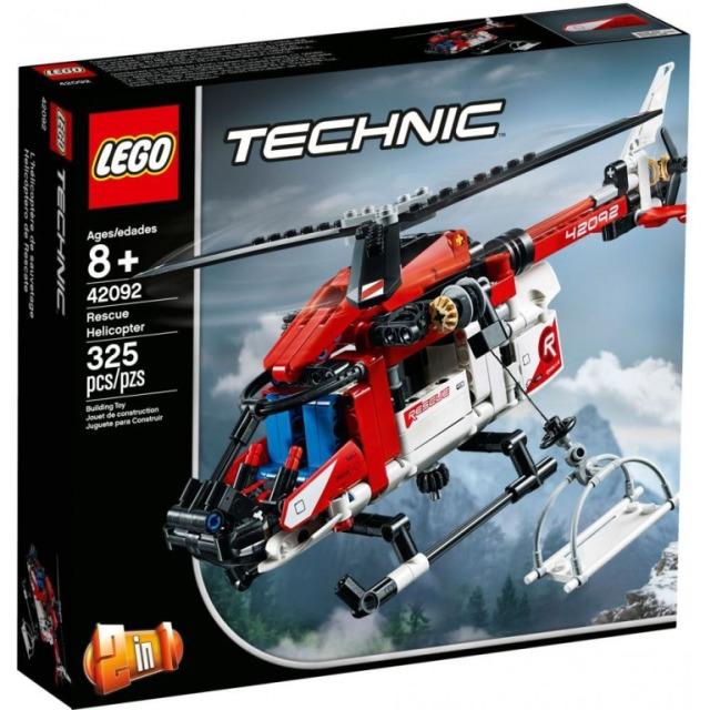 Obrázek produktu LEGO TECHNIC 42092 Záchranářský vrtulník