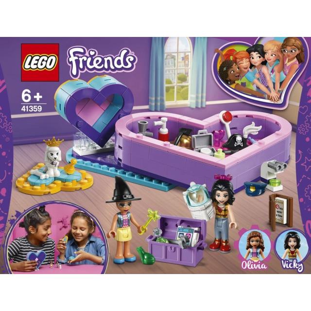 Obrázek produktu LEGO Friends 41359 Balíček srdíčkových krabiček přátelství