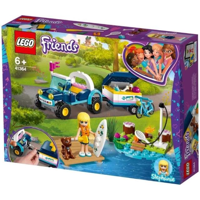 Obrázek produktu LEGO Friends 41364 Stephanie a bugina s přívěsem