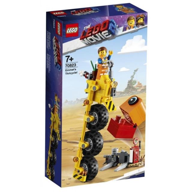 Obrázek produktu LEGO Movie 70823 Emmetova tříkolka!