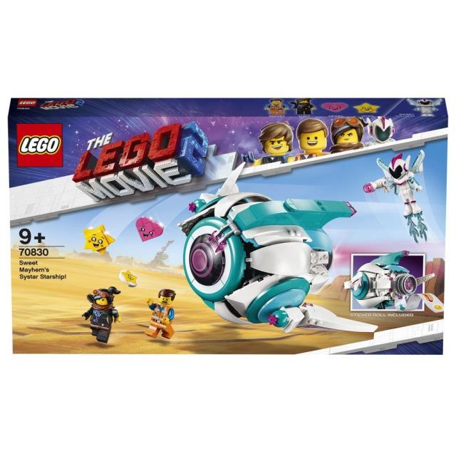 Obrázek produktu LEGO Movie 70830 Kosmická loď Systargenerálky Mely!