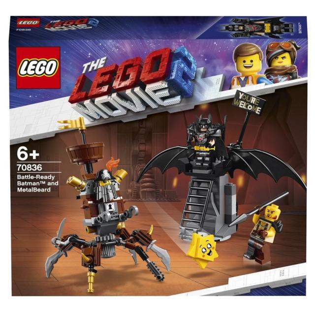 Obrázek produktu LEGO Movie 70836 Batman™ a Kovovous připraveni k boji