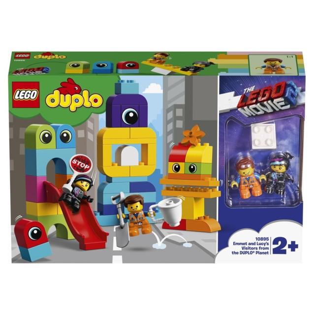 Obrázek produktu LEGO DUPLO Movie 10895 Emmet, Lucy a návštěvníci z DUPLO® planety