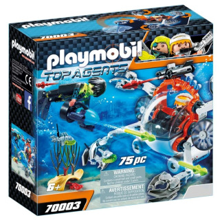 Obrázek 1 produktu Playmobil 70003 Spy Team Mini ponorka