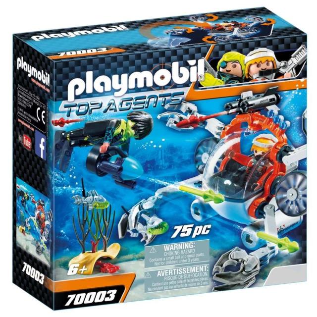 Obrázek produktu Playmobil 70003 Spy Team Mini ponorka