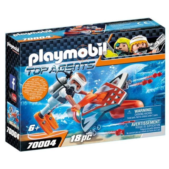 Obrázek produktu Playmobil 70004 Spy Team Podvodní křídlo s motorem