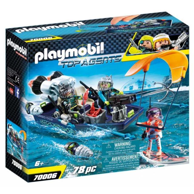 Obrázek produktu Playmobil 70006 Team S.H.A.R.K. Člun s harpunou