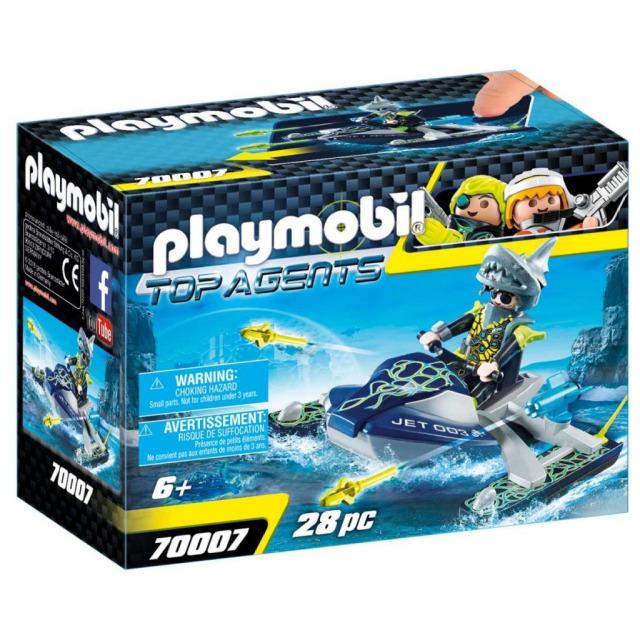 Obrázek produktu Playmobil 70007 Team S.H.A.R.K. Raketový skútr
