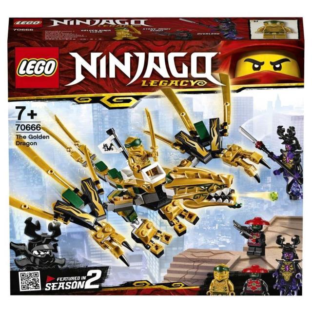 Obrázek produktu LEGO Ninjago 70666 Zlatý drak