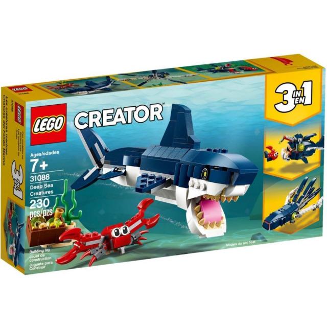 Obrázek produktu LEGO CREATOR 31088 Tvorové z hlubin moří