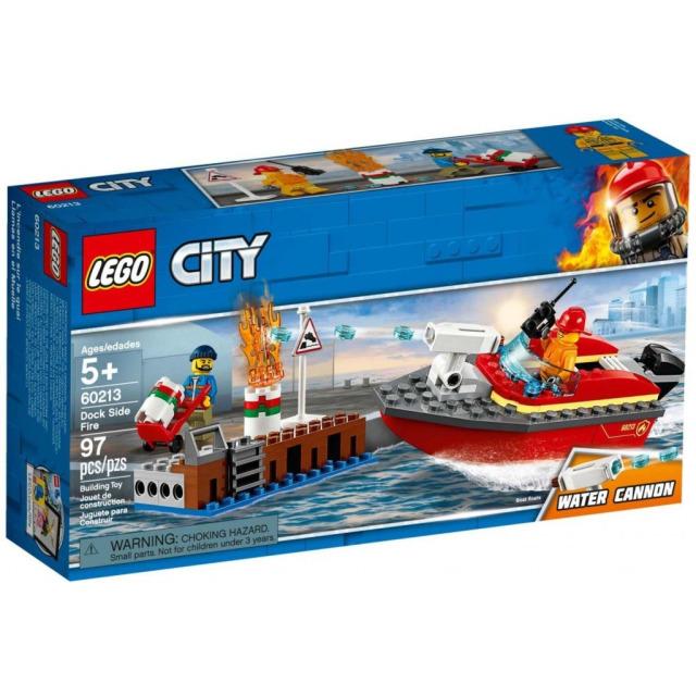 Obrázek produktu LEGO CITY 60213 Požár v přístavu