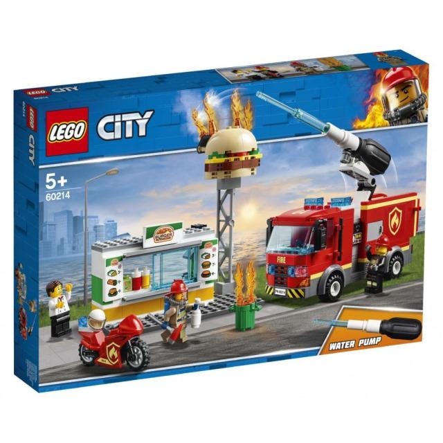 Obrázek produktu LEGO CITY 60214 Záchrana burgrárny