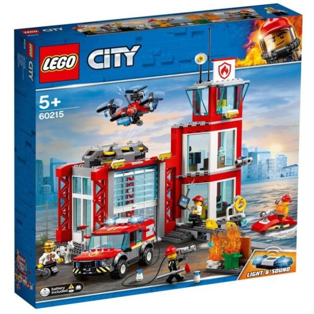 Obrázek produktu LEGO CITY 60215 Hasičská stanice