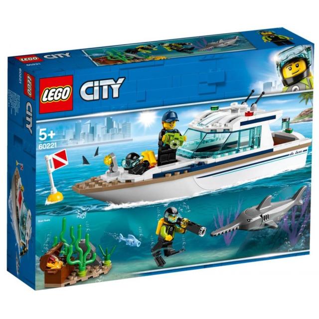 Obrázek produktu LEGO CITY 60221 Potápěčská jachta