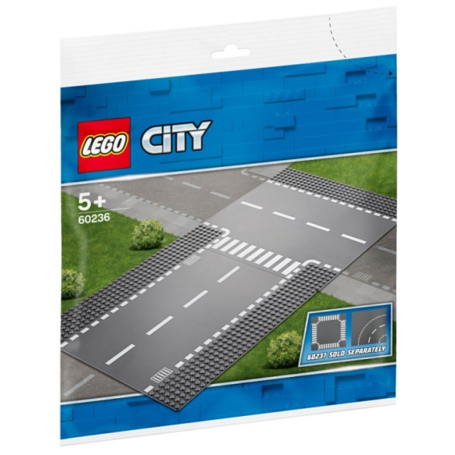 Obrázek produktu LEGO CITY 60236 Rovná cesta s křižovatkou