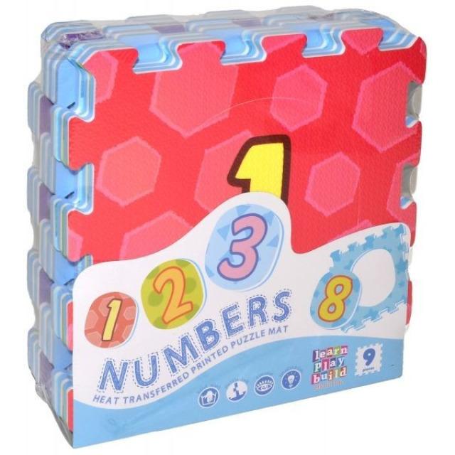 Obrázek produktu Pěnové puzzle Čísla 31x31 cm