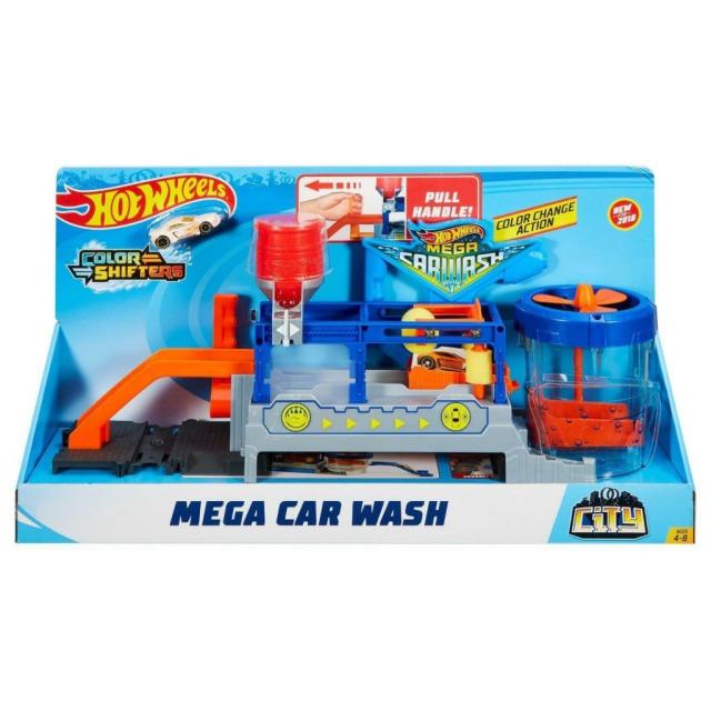 Obrázek produktu Hot Wheels City Mega Automyčka, Mattel FTB66