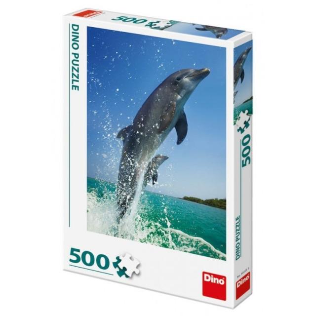 Obrázek produktu Puzzle Delfíni 500 dílků, Dino