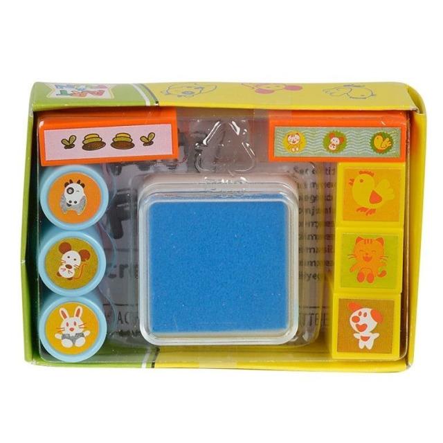 Obrázek produktu Sada modrých razítek Simba Art & Fun