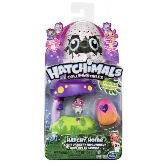 Obrázek produktu Hatchimals Svítící hrací sada Lesní hnízdo
