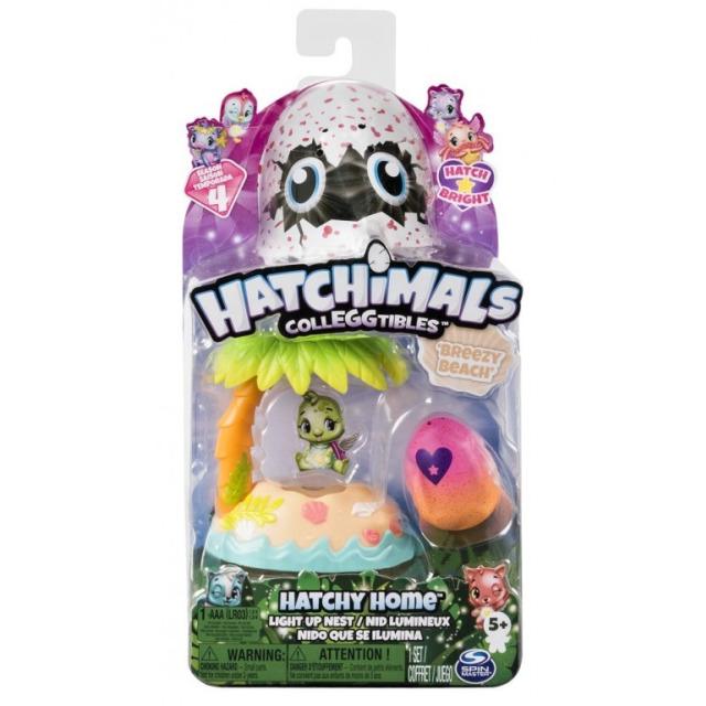 Obrázek produktu Hatchimals Svítící hrací sada Plážové hnízdo