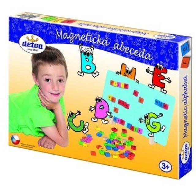 Obrázek produktu DETOA Magnetická abeceda