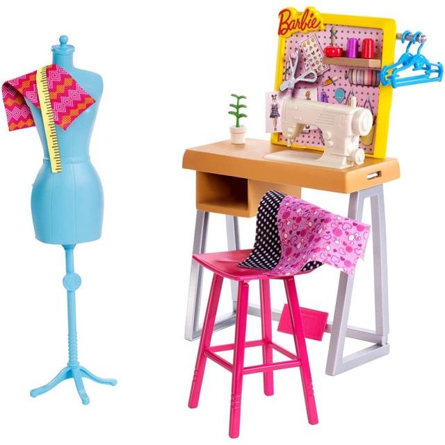 Obrázek produktu Barbie Dokonalé pracoviště švadleny, Mattel FXP10