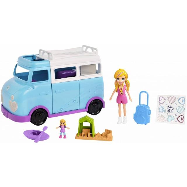 Obrázek produktu Polly Pocket Karavan, Mattel FTP74
